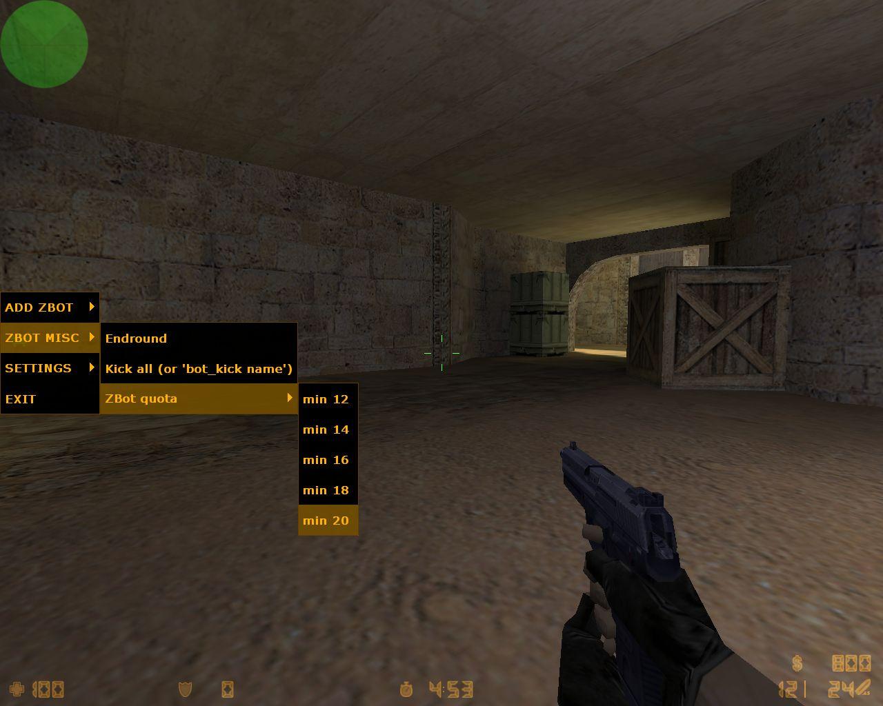 Как сделать ботов в игре контр страйк 1.6